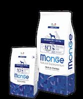 4275 Monge Superpremium Medium Adult, Монже корм для взрослых собак средних пород, уп.12 кг.