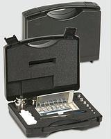 Набор из 24 гирь с головкой (мг гири - многоугольные пластины) 1мг–500г в пластиковом футляре, класс Е2