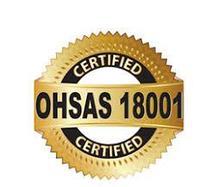 Сертификат системы менеджмента профессииональной безопасности и здоровья OHSAS 18001-2008 в г.Нур-Султан