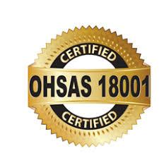 Сертификат системы менеджмента профессииональной безопасности и здоровья OHSAS 18001-2008 в г.Костанай
