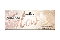 Essence Choose Your Glow! Highlighter Palette Палетка хайлайтеров