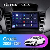 Автомагнитола Teyes CC3 4GB/64GB для Chevrolet Cruze 2008-2014, фото 1