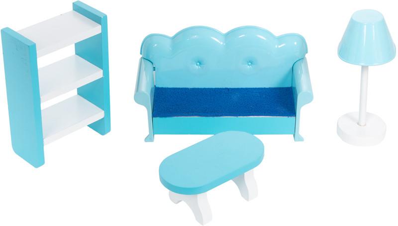 Кукольный домик с мебелью Edufun TX1095 - фото 3