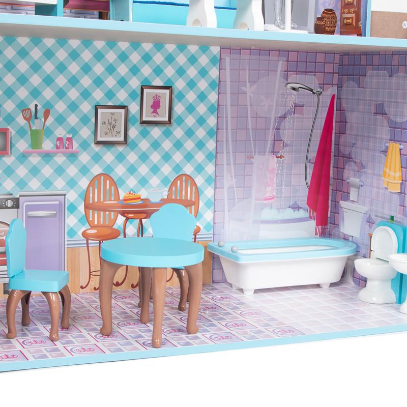 Кукольный домик с мебелью Edufun TX1095 - фото 6
