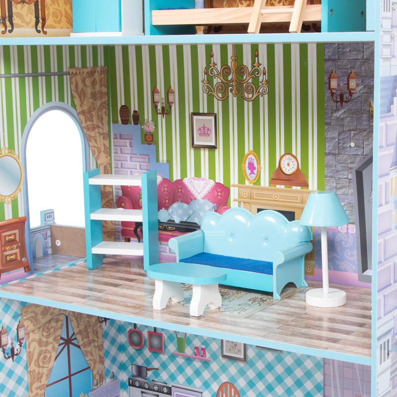 Кукольный домик с мебелью Edufun TX1095 - фото 7