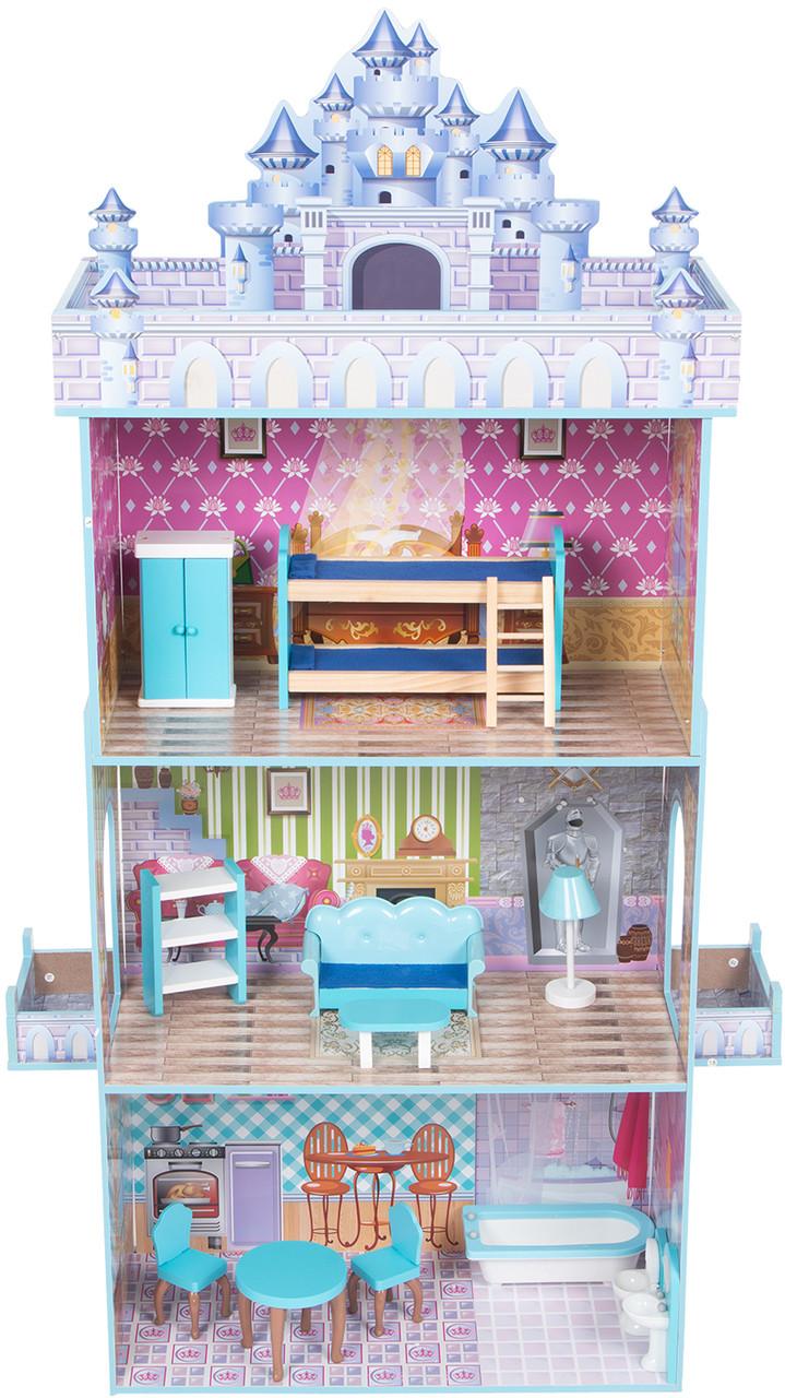 Кукольный домик с мебелью Edufun TX1095 - фото 1