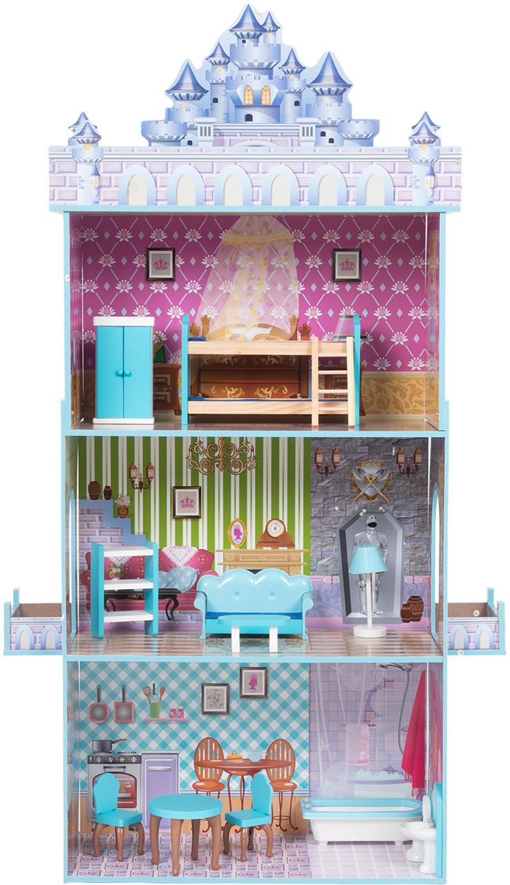 Кукольный домик с мебелью Edufun TX1095 - фото 10
