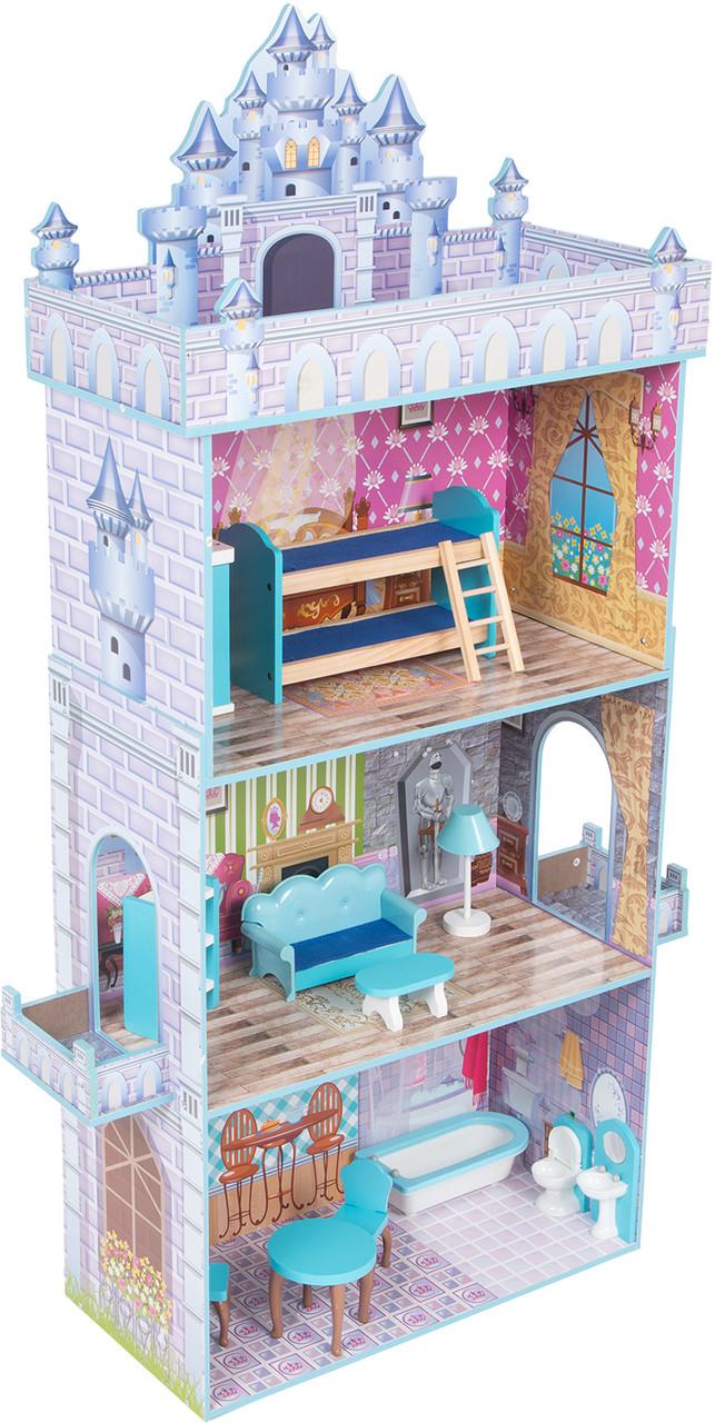 Кукольный домик с мебелью Edufun TX1095 - фото 9
