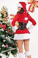 Новогоднее мини платье с корсетом, фото 2