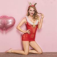 """Костюм """"CHRISTMAS GIRL"""" (платье, ушки), фото 3"""