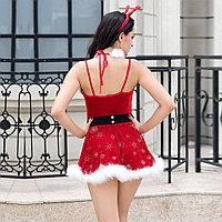"Костюм ""SEXY CHRISTMAS GIRL"" (платье, ободок, воротник), фото 5"