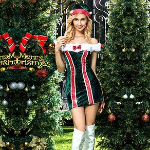 """Платье """"Эльфийка"""" (платье, шапка, трусики)"""
