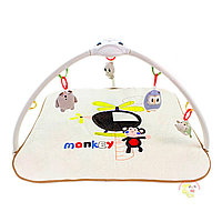 "Развивающий коврик Konig Kids ""Веселая обезьянка/Слон"" (проектор, свет, 8 мелодий)"