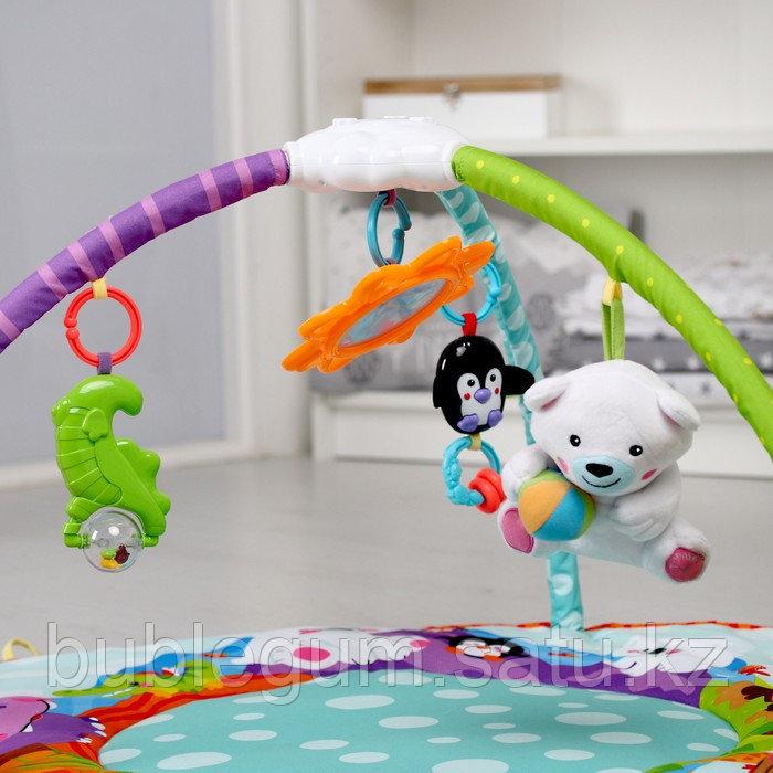 """Развивающий коврик """"Зверинец"""" звуки, игрушки  Smart baby"""