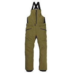 Burton брюки с лямками сноубордические мужские Reserve