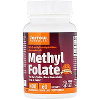 Фолиевая кислота, метилфолат от Jarrow 400 мкг, 60 табл.