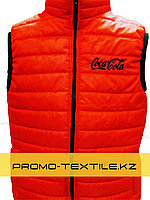 Пошив жилетов на заказ – Вышивка логотипа на жилетках