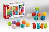 Набор резиновых кубиков Haunger 0231
