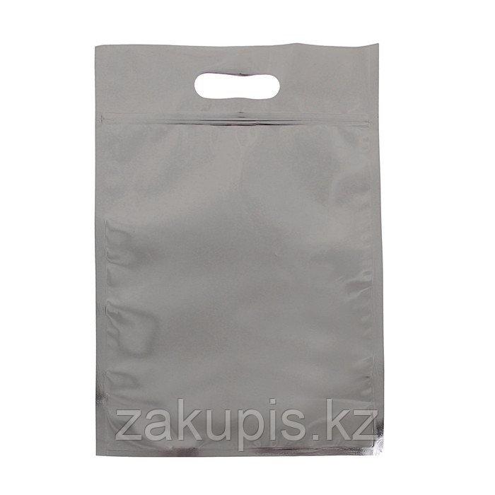 Пакет зип-лок, металлизированный