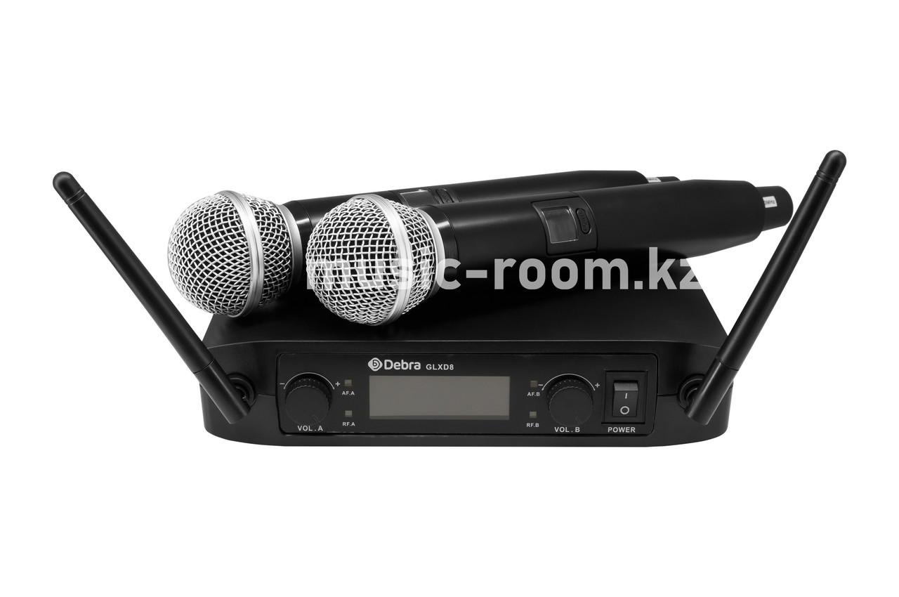 Беспроводная микрофонная система Debra GLXD-8