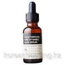 Осветляющая сыворотка с витамином С, Some By Mi Galactomyces Pure Vitamin C Glow Serum, фото 2