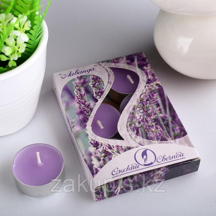 Набор чайных свечей ароматизированных  12 г, 6 штук