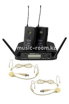 Головной микрофон радио/двойной Smart GLXD-4T
