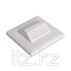Лицевая панель телекоммуникационная Под 2 модуля SHIP A161-2