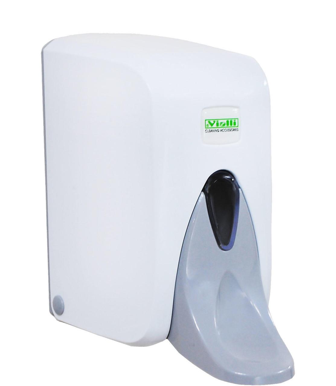 Медицинский (локтевой) дозатор Vialli диспенсер для жидкого мыла 500 мл