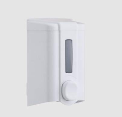 Дозатор (диспенсер) Vialli для жидкого мыла 500 мл.Белый цвет. Мыльница.