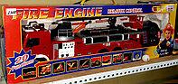 Инерционная машина,  пластмассовая, пожарная машина.