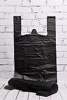 Пакет-майка черный 30*50 см