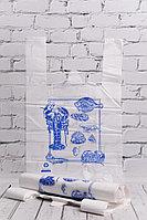 Пакет-майка рыбка 30*50 см