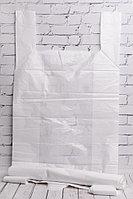 Пакет-майка белый 48*78 см