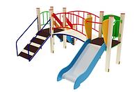 Детский игровой комплекс «Карапуз» H=750