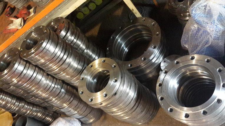 Фланец стальной плоский Ду 150 Ру 10 (КНР), фото 2