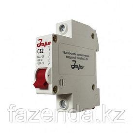 Автоматический выключатель Заря  1Р-25 А