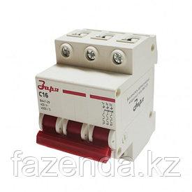 Автоматический выключатель Заря  3Р-16 А