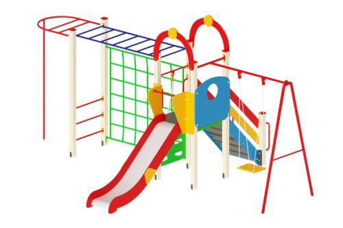 Детский игровой комплекс «Счастливое детство» H=1200