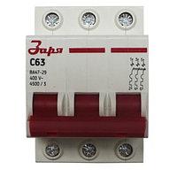 Автоматический выключатель Заря 3Р-63 А