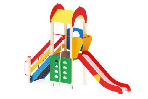 Детский игровой комплекс «Играйте с нами» H=1200