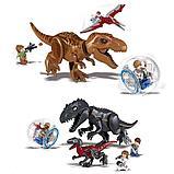 Конструктор 818 аналог лего Lego 2в1 Динозавры: 82028 Jurassic World (86 + 93 дет.) Мир Юрского периода, фото 2