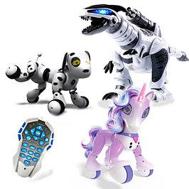 Радиоуправляемые интерактивные роботы и животные