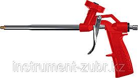 Пистолет для монтажной пены ЗУБР ТУРБО, нейлоновый  корпус