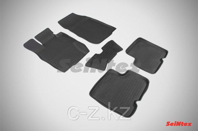 Резиновые коврики с высоким бортом для Nissan Terrano III 2014-2015, фото 2