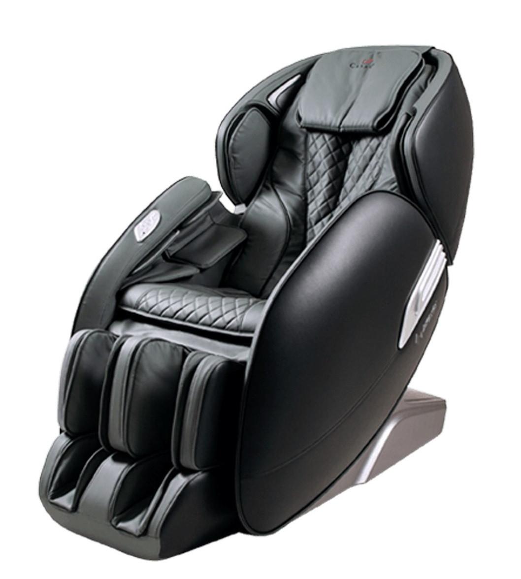 Массажное кресло Casada Alphasonic 2 Black Grey