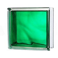 Стекло-блок темно-зеленый JH061