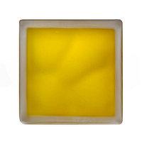 Стеклоблок JH 066 Misty In-colored yellow(желтый матовый)