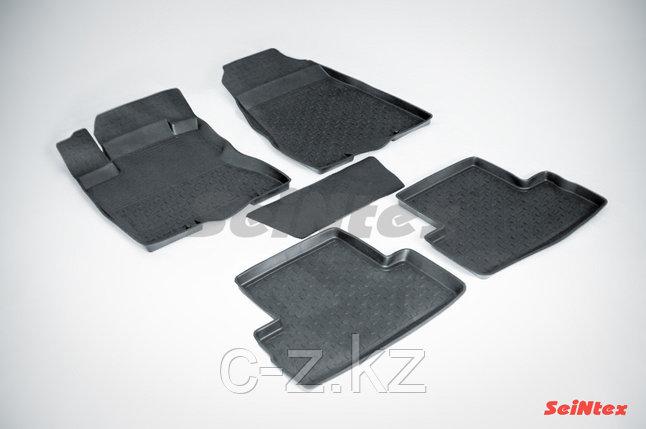 Резиновые коврики с высоким бортом для Nissan X-Trail (T31) 2007-2015, фото 2