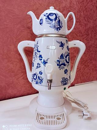 Самовар электрический с чайником, фото 2